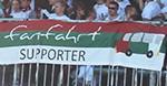 Fanfahrt Supporter