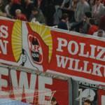 FC Fans gegen Polizeiwillkür