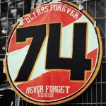 Ultras forever – 74 never forget 1/2/2012