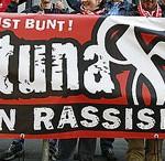 Fortuna Fans gegen Rassismus