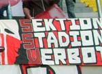 Sektion StadionVerbot (Regensburg, dreizeilig)