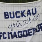 Buckau grüßt den 1.FC Magdeburg