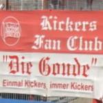 """Kickers Fan Club """"Die Goude"""" (zweizeilig)"""