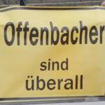 Offenbacher sind überall