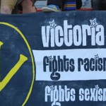 victoria fights racism fights sexism