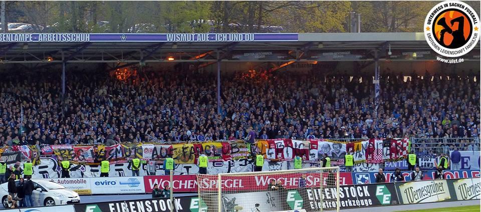 BSG Wismut Aue Fanclub Klebrige Banditen