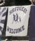 Refugees welcome (Linden)