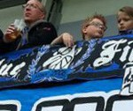 Black Blue Fighters (klein)