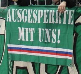 Ausgesperrte mit uns! (Rapid Wien)