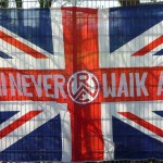 You'll never walk alone (Essen, Union Jack)