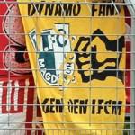 Dynamo Fans gegen den 1.FCM