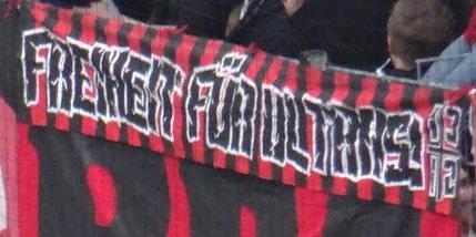 Freiheit für Ultras (Nürnberg, klein)