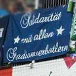 Solidarität mit allen Stadionverbotlern