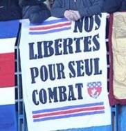 Nos libertes pour seul combat