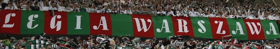 Legia Warszawa (längsgestreift)