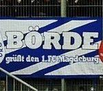 Börde grüßt den 1.FC Magdeburg