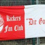 """Kickers Fan Club """"Die Goude"""" (zweispaltig)"""