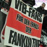 VfB-Fans für den Erhalt der Fankultur